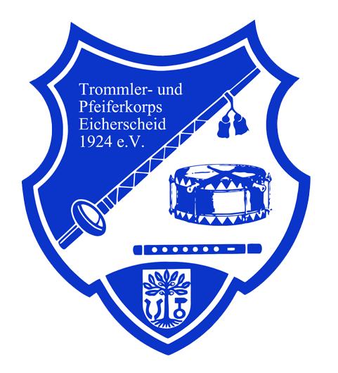Logo des Trommler- und Pfeiferkorps Eicherscheid 1924 e.V.